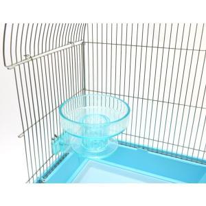 インコのおもちゃ クイックロック バードバス 小型・中型インコの水浴び容器