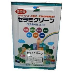 エスケー化研 セラミクリーン 白・標準色*印除く 16kg|toryouya-honnpo