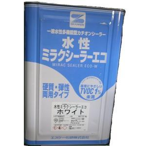 エスケー化研 水性ミラクシーラーエコ ホワイト 15kg|toryouya-honnpo