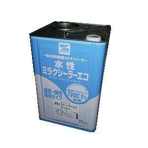 エスケー化研 水性ミラクシーラーエコ クリヤー 15kg|toryouya-honnpo