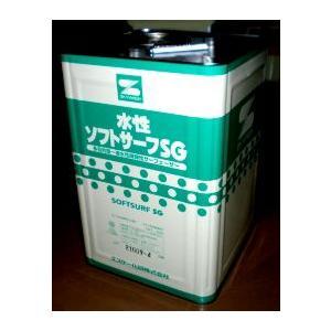 エスケー化研 水性ソフトサーフSG  16kg|toryouya-honnpo