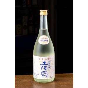 人気商品!土佐酒 土佐鶴 純米吟醸 平安の夢 720ml|tosazake007