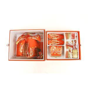 七五三用 ペアセット 7才用 箱迫セット 大寸 箱セコ はこせこ ハコセコ 作り帯 女の子用和服、着物