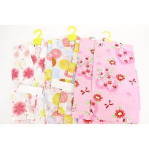 子供浴衣 100サイズ女の子 女物 子供用 ちびっこ浴衣 3-4歳 kids