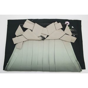 袴 深緑 うす緑桜 女性用 レディース用 レンタルより安い 和装小物 tosen