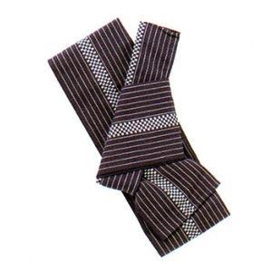 有職 和装小物 綿軽装角帯 縞柄 有職 YU-SOKU 掲載 和装小物 帯 角帯 男性 メンズ ポイ|tosen