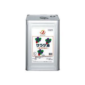 Jオイル サラダ油エメラルド 16.5kg缶|toshimaya