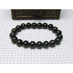 モリオン 黒水晶 ブレスレット 10mm メール便可 [M便 1/10] 111-2197|tosho-stones|02