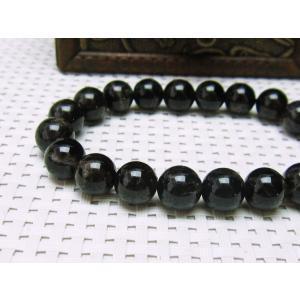 モリオン 黒水晶 ブレスレット 10mm メール便可 [M便 1/10] 111-2197|tosho-stones|03