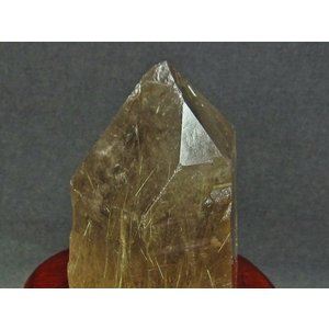スモーキークォーツ 煙水晶 原石 ルチルクォーツ入り 台座付属 [送料無料] 181-411 tosho-stones 04
