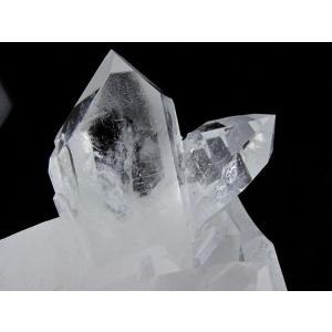 水晶クラスター 原石 アーカンソー産 台座付属 送料無料 182-137|tosho-stones|04