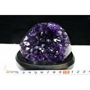アメジスト クラスター ウルグアイ産 台座付属 182-1488|tosho-stones|02