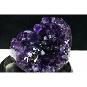 アメジスト クラスター ウルグアイ産 台座付属 182-1488|tosho-stones|04