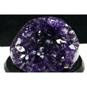 アメジスト クラスター ウルグアイ産 台座付属 182-1488|tosho-stones|05