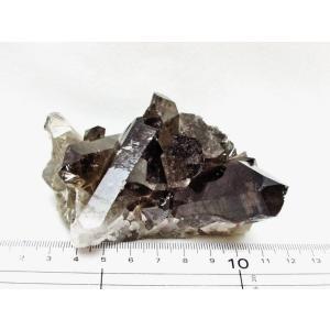 モリオン 原石 黒水晶原石 モリオンクラスター ブラジル産 182-845 tosho-stones 02