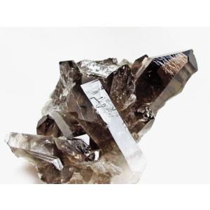 モリオン 原石 黒水晶原石 モリオンクラスター ブラジル産 182-845 tosho-stones 04