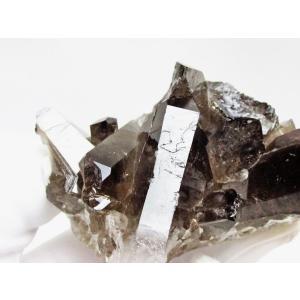 モリオン 原石 黒水晶原石 モリオンクラスター ブラジル産 182-845 tosho-stones 05