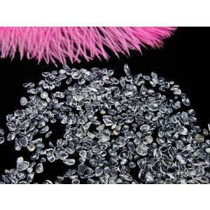 水晶さざれ クリスタルクォーツ さざれ 水晶 さざれ石 100g 小サイズ[メール便送料無料] 973-7 tosho-stones 02