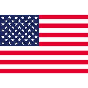 アメリカ国旗 星条旗 (70×105cm・ポリエステル100%) :42100-USA ...