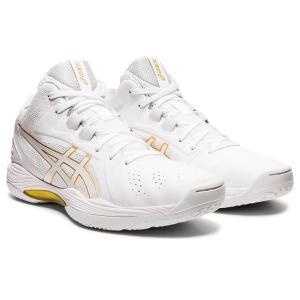 アシックス asics バスケットボール バスケットシューズ メンズ レディース ゲルフープ V13 スタンダード 1063A035-102 ホワイト×ホワイト totai