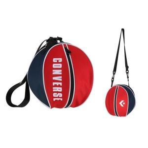 コンバース convers バスケットボール ボールバッグ 1個入れ C1951097-6429 レッド×ネイビー|totai