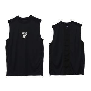 チャンピオン champion バスケットボール メンズ ノースリーブシャツ C3-TB314-090 ブラック|totai