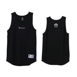 チャンピオン champion バスケットボール メンズ タンクトップ シャツ C3-TB353-090 ブラック|totai