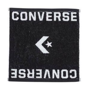 コンバース(convers) ジャガードハンドタオル 34×35cm スポーツ用品 ブラック CB182902-1911|totai