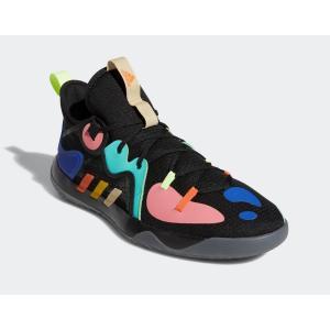 アディダス adidas バスケットボールシューズ メンズ Harden Stepback ハーデン ステップバック 2 FZ1069 コアブラック×イエロー×アシッドミント totai