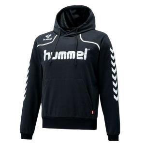 ヒュンメル スウェットパーカー(オールスポーツウェア) HAP8181(90:ブラック)|totai