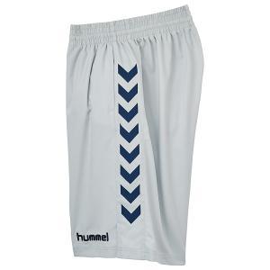 ヒュンメル(hummel) バスケットプラクティスパンツ 男女兼用 股下約25cm バスケットボールウェア シルバー HAPB6004-95|totai