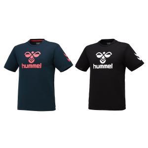 ヒュンメル hummel 半袖 tシャツ ビッグロゴTシャツ メンズ レディース HAY2122|totai