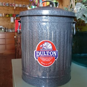 ダルトン dulton ガベージ缶 S 12L グレー|totalbox