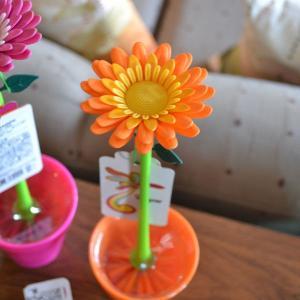ダルトン dulton フラワーブラシ オレンジ|totalbox
