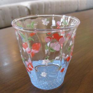 チャームガーデン ガラス タンブラー チェリー|totalbox