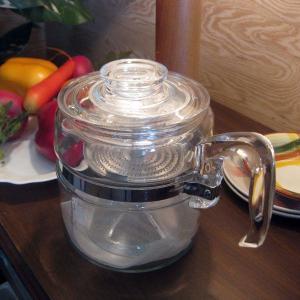 オールドパイレックス フレームウェア パーコレーター 4杯用|totalbox