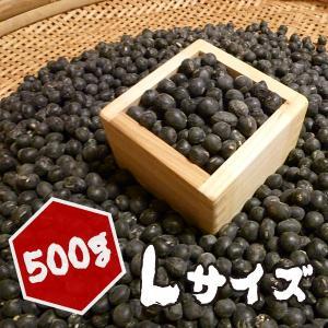 【500g】岡山県産丹波種黒大豆(Lサイズ)500g|totalbox