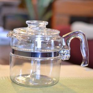 オールドパイレックス フレームウエア パーコレーター 4杯用|totalbox