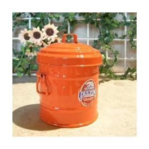 ダルトン dulton ガベージ缶 マイクロ オレンジ|totalbox