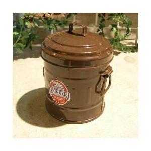 ダルトン dulton ガベージ缶 マイクロ ブラウン|totalbox