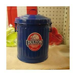 ダルトン dulton ガベージ缶 ミニL 10L ブルー|totalbox
