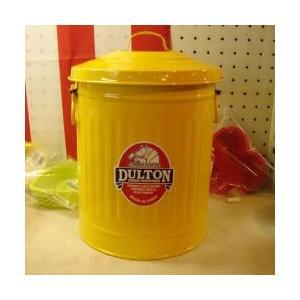 ダルトン dulton ガベージ缶 ミニL 10L イエロー|totalbox