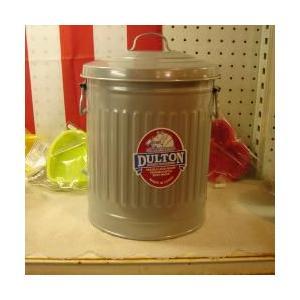 ダルトン dulton ガベージ缶 M 18L  シルバー |totalbox