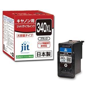 ジット キャノン(Canon)対応 リサイクル インクカートリッジ BC-340XL 増量 ブラック対応 JIT-C340BXL totasu888