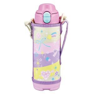 タイガー 水筒 500ml 直飲み コップ 付 2WAY ステンレス ボトル ポーチ付き サハラ ピンク レインボー MBO-G050-PR|totasu888