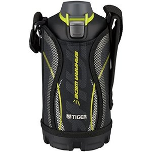 タイガー 水筒 800ml 直飲み ステンレス スポーツ ボトル ポーチ付き サハラ ブラック MME-C080-K Tiger|totasu888