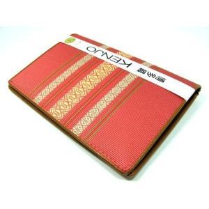 福岡県伝統工芸品 博多織り 献上柄 健康保険書証入れ・カードケース・通帳ケース ピンク色