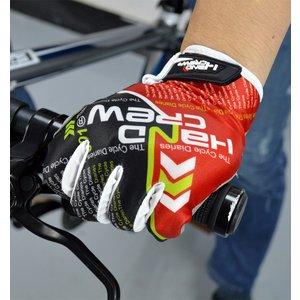 HANDCREW(ハンドクルー) 自転車 3D 立体 スマホー対応 サイクルグローブ GEL入り O...