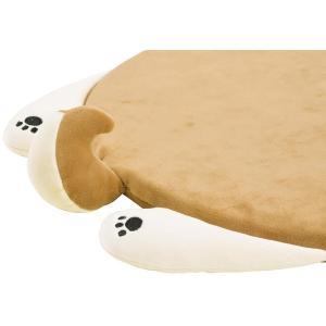 りぶはあと ねむねむアニマルズリラックス チェアクッション 柴犬のコタロウ 35x36cm 38654-44|totasu888