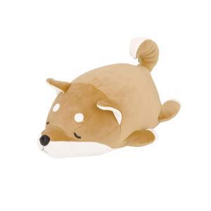 りぶはあと マシュマロアニマルボルスタークッション 柴犬のコタロウ(15x27x14cm) 48656-44|totasu888